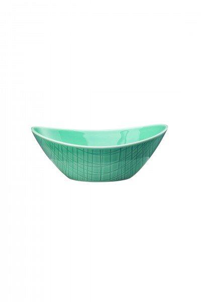 Rosenthal Mesh Aqua - Schale oval 15x11 cm