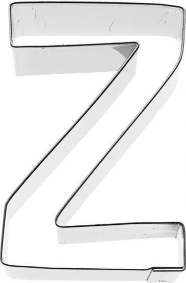 Birkmann - Ausstechform Buchstabe Z, Edelstahl, 6 cm