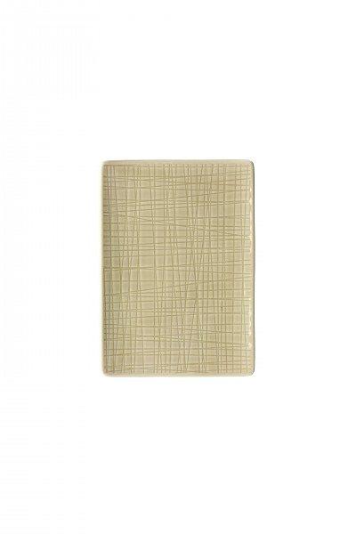 Rosenthal Mesh Cream - Platte flach 18x13cm
