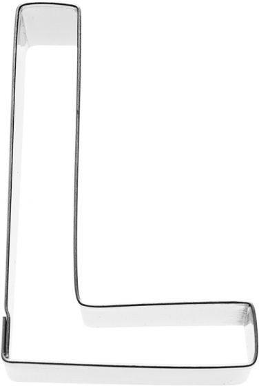 Birkmann - Ausstechform Buchstabe L, Edelstahl, 6 cm