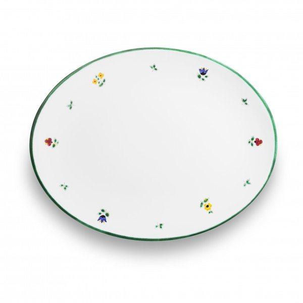 Gmundner Streublumen - Platte oval (33x26cm)