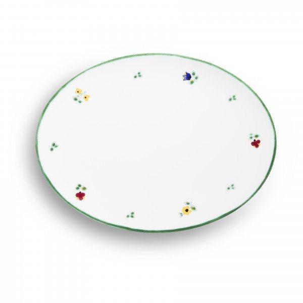 Gmundner Streublumen - Platte oval (28x21cm)