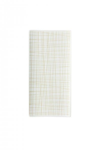 Rosenthal Mesh Line Cream - Platte flach 26x13cm