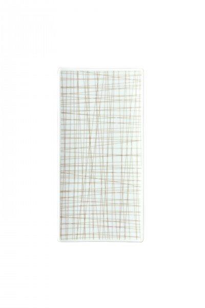 Rosenthal Mesh Line Walnut - Platte flach 26x13cm