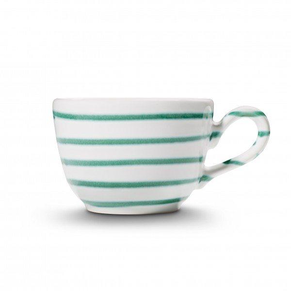 Gmundner Grüngeflammt - Kaffeetasse glatt (0,19L)