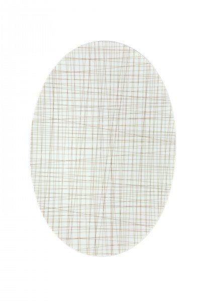 Rosenthal Mesh Line Walnut - Platte 38 cm