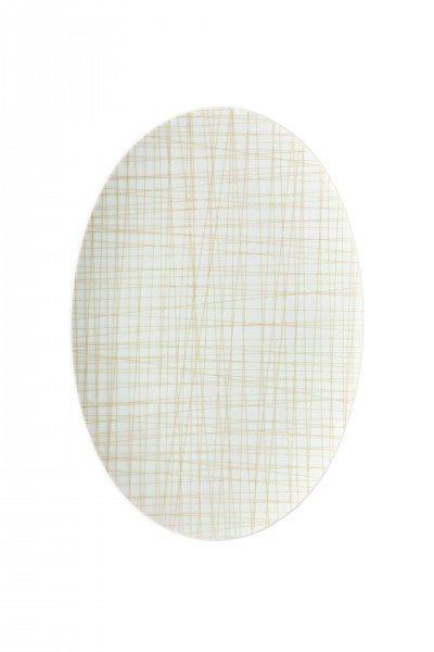 Rosenthal Mesh Line Cream - Platte 30 cm