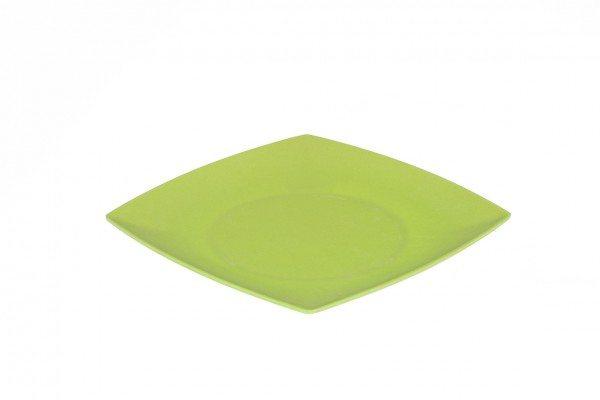 Magu - Teller flach eckig 21cm Apfelgrün