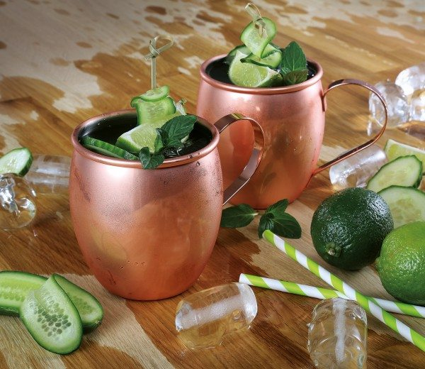 Cilio - Becher MOSCOW MULE poliert
