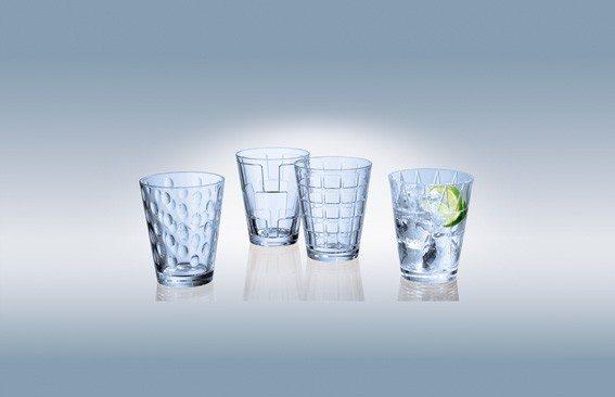 Villeroy&Boch Dressed Up - Wasserglas Set 4tlg blue