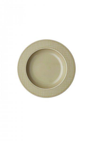 Rosenthal Mesh Cream - Teller tief 23 cm/Fa