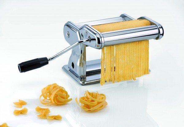 Gefu - Profi-Pastamaschine PASTA PERFETTA BRILLANTE für Lasagne, Tagliolini, Tagliatelle