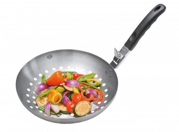 Gefu - Gemüse-Wok BBQ mit abnehmbarem Griff