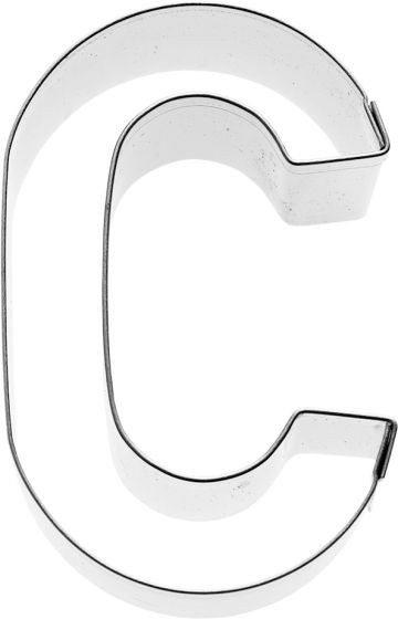 Birkmann - Ausstechform Buchstabe C, Edelstahl, 6 cm