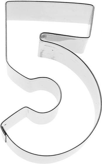 Birkmann - Ausstechform Zahl 4, Edelstahl, 6 cm