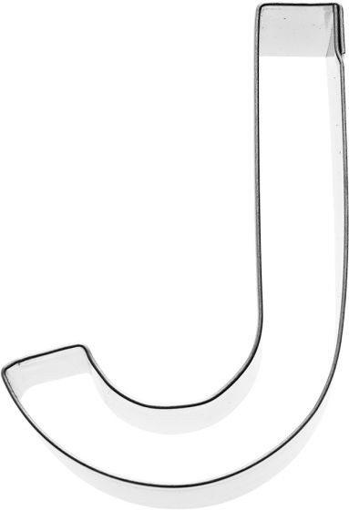 Birkmann - Ausstechform Buchstabe J, Edelstahl, 6 cm