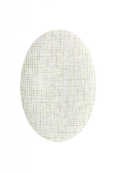 Rosenthal Mesh Line Cream - Platte 38 cm