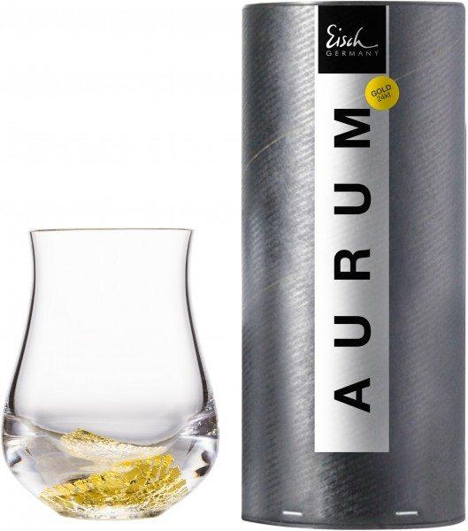 Eisch Aurum - Malt Whisky Becher 128/8 in Geschenkröhre