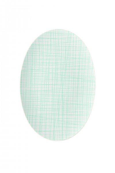 Rosenthal Mesh Line Aqua - Platte 38 cm