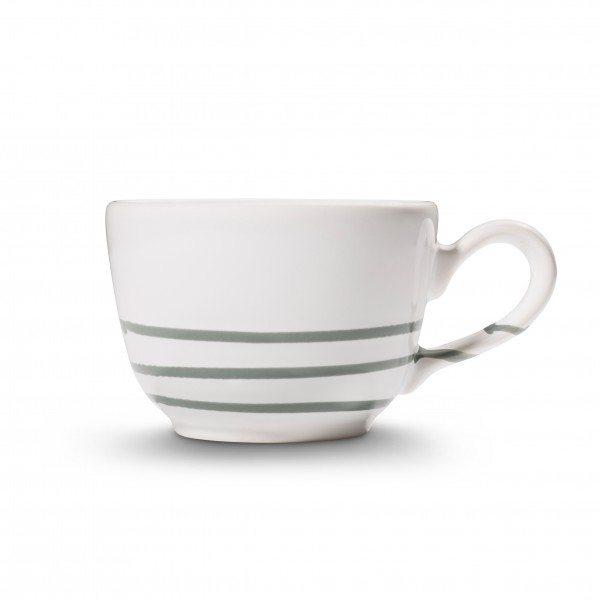 Gmundner Pur Geflammt Grau - Kaffeetasse glatt (0,19L)