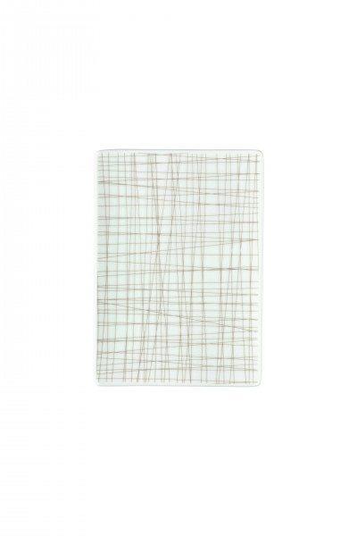 Rosenthal Mesh Line Walnut - Platte flach 18x13cm