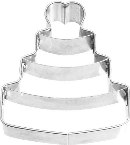 Birkmann - Ausstechform Hochzeitstorte, Edelstahl, 6,5 cm