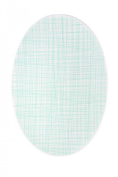 Rosenthal Mesh Line Aqua - Platte 42 cm