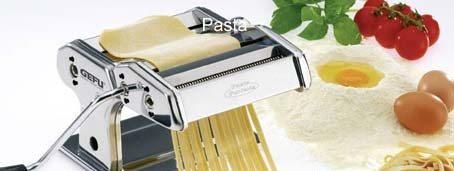 Gefu - Pastamaschine PASTA PERFETTA für Lasagne, Tagliolini, Tagliatelle