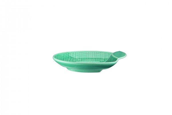 Rosenthal Mesh Aqua - Schale flach 12 cm