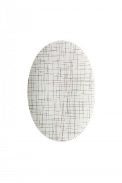 Rosenthal Mesh Line Walnut - Platte 25 cm
